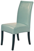 New Pacific Direct Valencia Leather Chair with Flat Top