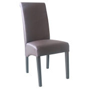 4D Concepts Sleek High Back Parson Dining Chair