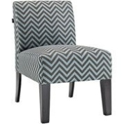 Allegro Ziggi Upholstered Accent Chair Teal
