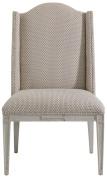 Charleston Regency Grey Linen Ashley Host Chair