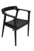 Lillian Dining Chair Black Oak