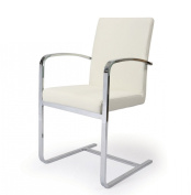 Monaco Arm Chair in Ivory [Set of 2]