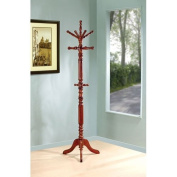 Traditional Coat Rack with Spinning Top