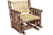 Montana Woodworks Montana Collection Single Seat Glider