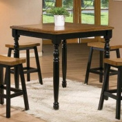 Winners Only Quails Run Counter Height Square Tall Dining Table