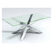Jacob Couture Glass Dining Table