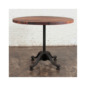 Jane Round Bistro Table Reclaimed Wood