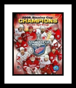 2008 Stanley Cup Champs Detroit Red Wings NHL Framed 8x10 Photograph Composite
