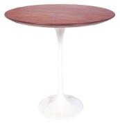 Saarinen Tulip Side Table - Rosewood