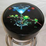 Michael Godard Dirty Martini Bar Stool