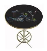 Michael Godard Custom Martini Pub Table