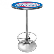 NBA Los Angeles Clippers Chrome Pub Table