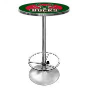 NBA Milwaukee Bucks Chrome Pub Table
