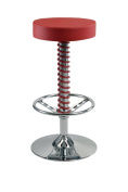 Pitstop Furniture PC1400R Red Pit Crew Bar Stool
