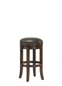 AHB Sonoma Backless Bar Stool - Suede