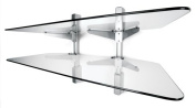 Vantage Point AXWG02S 2-Shelf Audio/Video Wall Shelves
