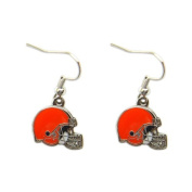 Cleveland Browns Dangle Logo Earring Set Charm Gift NFL Cleveland Browns Dangle Logo Earring Set Ch