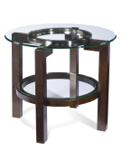 Bassett Mirror Co. Oslo Round End Table - T1705-220