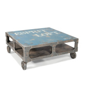 Moes Home LoSquare ft Coffee Table In Blue