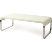 Pastel Jumeirah Coffee Table - Black & White High Gloss Base & Top