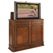 TV Lift Cabinet Extra Large for 100cm - 130cm Flat Screens (Stained) AT004873-STND