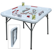 Benecasa Blow Mould Domino Game Table