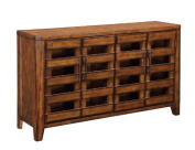 Coast to Coast 32026 29 by 60cm by 60cm 1-Drawer Game Table, Claybank