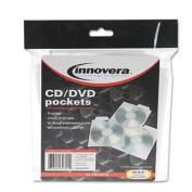 Innovera - CD/DVD Pockets, 25/Pack
