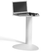 BDI Bink Mobile Media Table for Laptops and Tablets, Salt Finish