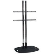 Floor Stand with 180cm Dual Poles and Fixed Universal Mounting Arms