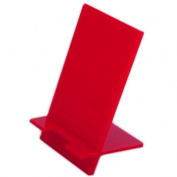 Red Acrylic Mobile Phone Stand One - Mobile phone stand