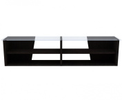 Temahome Oliva TV Bench with Glass Top, 170cm , Wenge