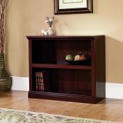 Sauder 2-Shelf Bookcase, Select Cherry