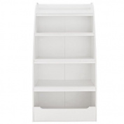 Dorel Home Furnishings Kids 4-shelf Bookcase Multiple Colours