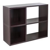 Way Basics Chelsea 2-Shelf Bookcase