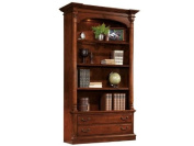 Hekman Hekman Home Office Weathered Cherry Executive Bookcase Centre