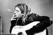 Kurt Cobain (Smoking) Music Poster Print