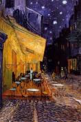 Van Gogh (Cafe Terrace at Night) Art Poster Print