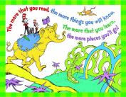 Eureka Dr. Seuss The More You Read Poster