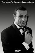 James Bond Movie The Name's Bond Poster Print