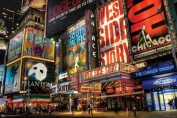 NMR 9510 NYCTimes Square Decorative Poster