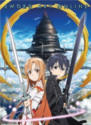 Great Eastern Entertainment Sword Art Online Kirito and Asuna Wall Scroll, 80cm by 110cm