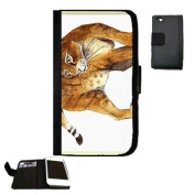 Cat Fabric iPhone 5 Wallet Case Great Gift Idea