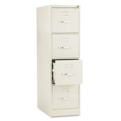 HON COMPANY * 510 Series Four-Drawer, Full-Suspension File, Letter, 52h x25d, Putty, Sold as 1 Each