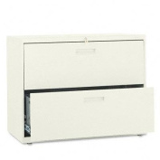HON(tm) 582LL - 500 Series Two-Drawer Lateral File, 36w x28-3/8h x19-1/4d, Putty