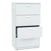 HON674LQ - 600 Series 30 Wide 4-Drawer Lateral File