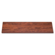 "Wholesale CASE of 5 - Lorell 110cm Lateral Files Laminate Tops-Lateral File Top, 110cm x 47cm x 1"", Cherry"