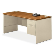 HON Efficiencies Mobile Pedestal File with 1 File and 2 Box Drawers