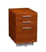 BDI Sequel Low Mobile Pedestal 6007 - Natural Stained Cherry