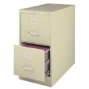 60cm Deep Commercial 2 Drawer Letter Size High Side Vertical File Cabinet Colour